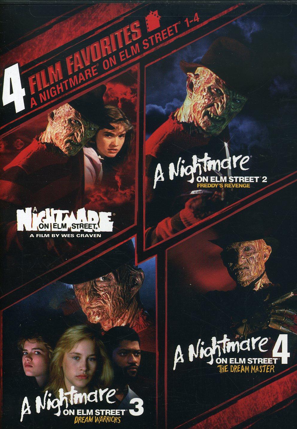 4 Film Favorite: Nightmare on Elm Street 1-4 (DVD)