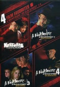 4 Film Favorite: Nightmare on Elm Street 1-4 (DVD)