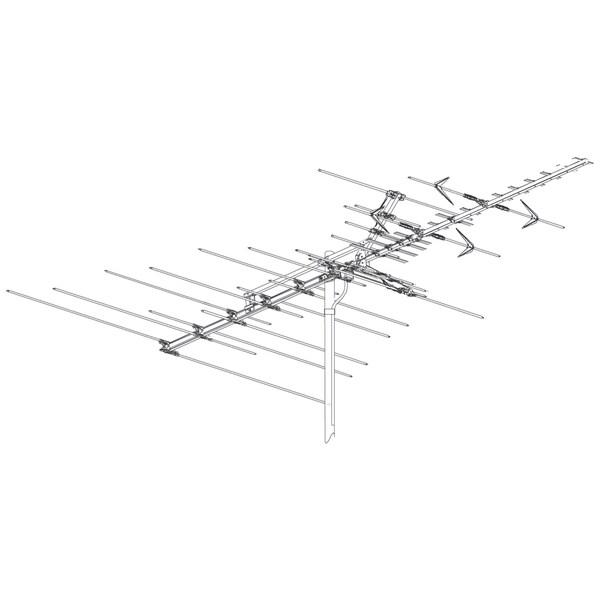 Winegard Platinum HD Series HD7084 High Definition VHF/UHF Antenna
