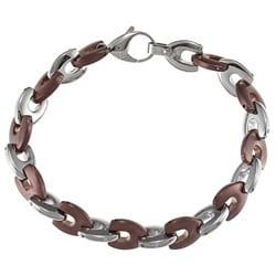 Chocolate Stainless Steel Bracelet