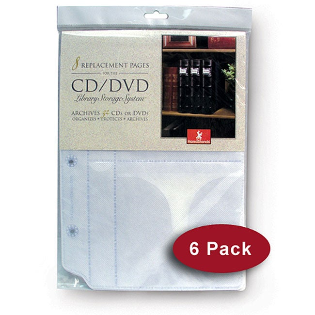 Handstands Large Storage Insert Pages (Pack of 6) at Sears.com