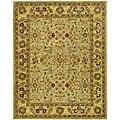 Safavieh Handmade Classic Kasha Gold Wool Rug (7'6 x 9'6)