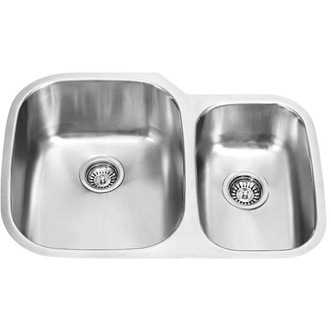 30 Stainless Steel Sink : VIGO 30-inch Undermount Stainless Steel Kitchen Sink - Overstock ...