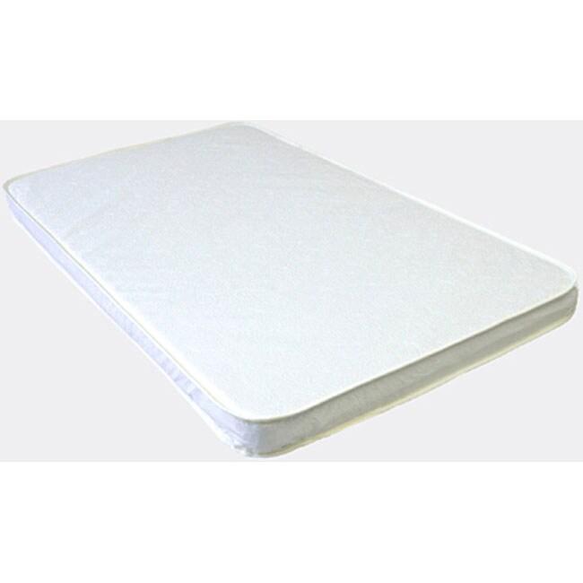 LA Baby 2-inch Compact Crib Mattress - 11452469 - Overstock.com Shopping - Big Discounts on LA ...