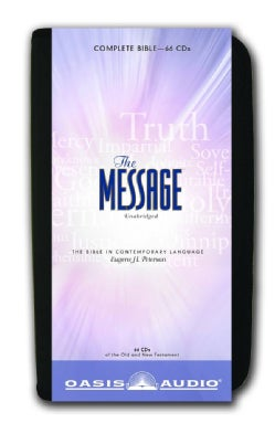 The Message Bible: Complete Bible (CD-Audio)
