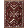 Hand-tufted Transitional Mandara Wool Rug (8' x 11')