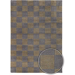 Hand-knotted Contemporary Mandara Rug (8' x 10')