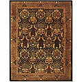 Safavieh Handmade Majestic Black New Zealand Wool Rug (8'3 x 11')