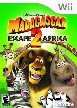 Wii - Madagascar 2: Escape 2 Africa