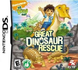 Nin DS - Go, Diego, Go!: Great Dinosaur Rescue