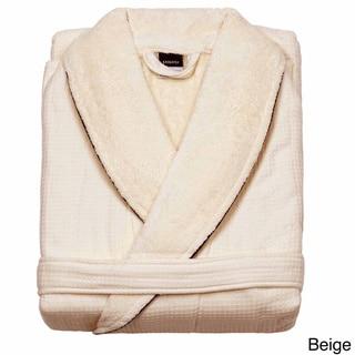 Egyptian Cotton Waffle Terry Bath Robe