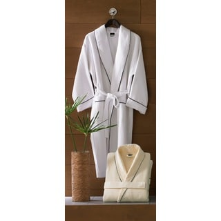 Egyptian Cotton Waffle Terry Bath Robe
