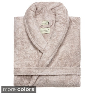Rayon from Bamboo Shawl Collar Bathrobe