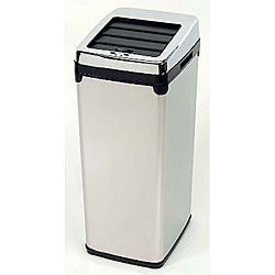 Auto Eye 11-gallon Steel Sensor Trash Can