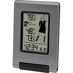 La Crosse Technology WS-9740U-IT-NL Weather Girl Forecast Station