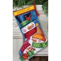 'Freezin' Season' Stocking Needlepoint Kit