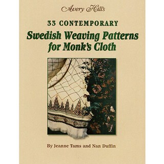 Avery Hill 'Swedish Weaving Patterns for Monk's Cloth' Book