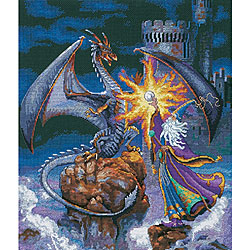 'Magnificent Wizard' Counted Cross Stitch Kit