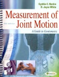 Measurement of Joint Motion: A Guide to Goniometry (Spiral bound)