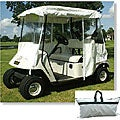 'All Season' White Golf Cart Cover