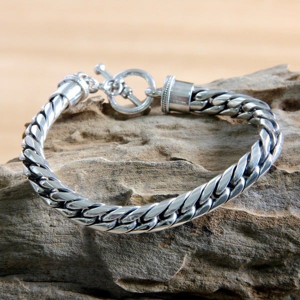 Sterling Silver 'Silver Choices' Bracelet (Indonesia)