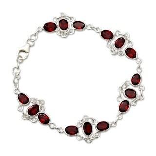 Garnet 'Ecstasy' Bracelet (India)
