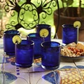 Set of 6 'Cobalt Dreams' Tumblers (Mexico)