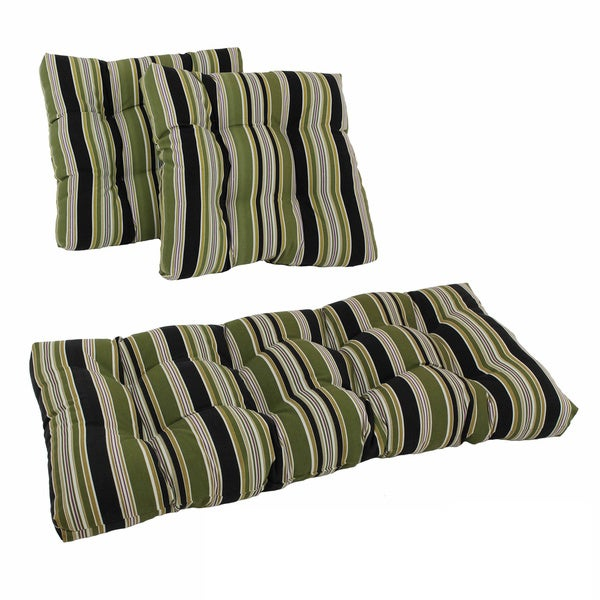All-weather Outdoor Hibiscus Cushions (Set of 3)