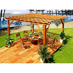 Premium Wood Pergola