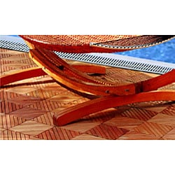 Wood Arc Hammock Stand