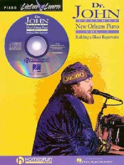 Dr. John Teaches New Orleans Piano: Building a Blues Repertoire