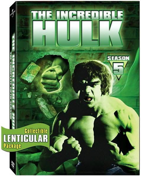 The Incredible Hulk: The Complete Fifth Season (DVD)
