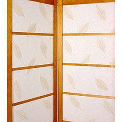Botanic Shoji Screen with Solid Bottom (China)
