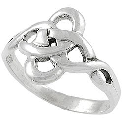 Tressa Sterling Silver Celtic Twist Ring