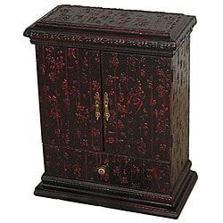 Black Calligraphy CD Cabinet (China)