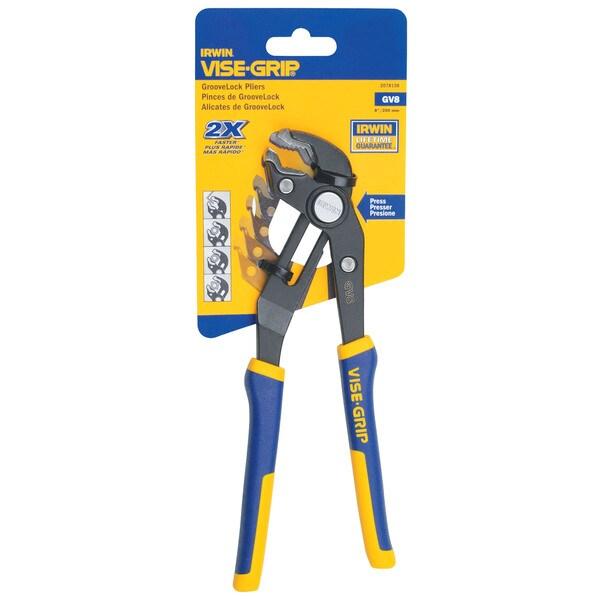 IRWIN 2078108 Vise Grip GrooveLock Pliers