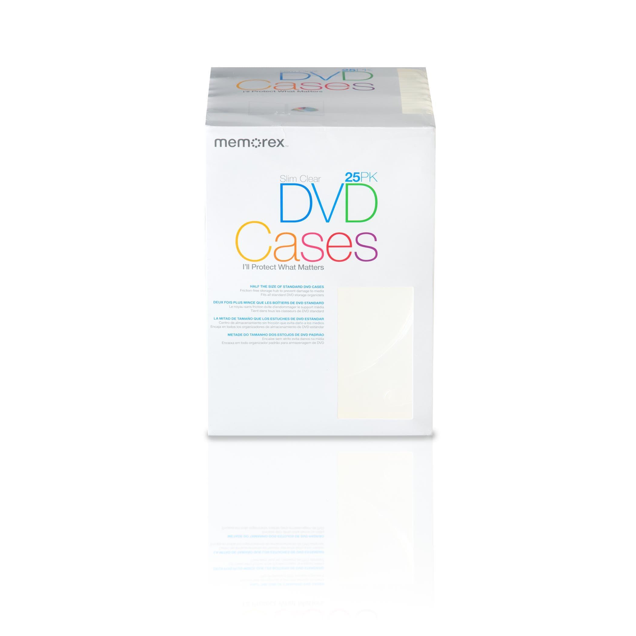 Memorex Slim Clear DVD Storage Case