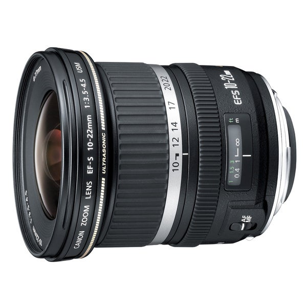 Canon 10-22mm f/3.5-4.5 USM Ultra Wide Angel Zoom Lens