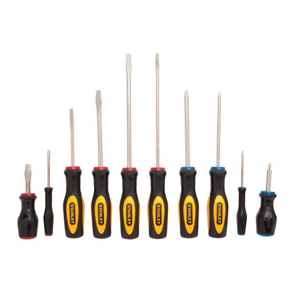 Stanley 60-100?64-010 10-piece Screwdriver Set