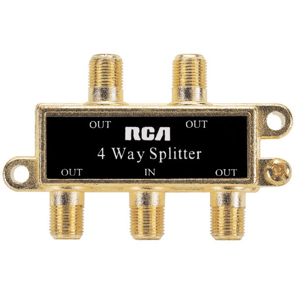 4-way Deluxe Signal Splitter