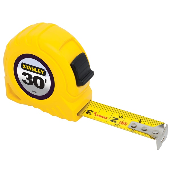 "Stanley 30-464 Tape Measure (30 Ft X 1"")"