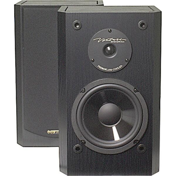 6 175-Watt 2-Way Shielded Bookshelf Speakers