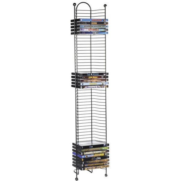 Nestable Storage 52-DVD/Blu-ray Tower 4090635