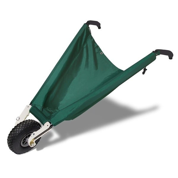 Wheel Easy LE Green Collapsible Wheelbarrow 4093386