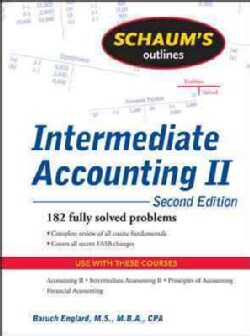 Schaum's Outline of Intermediate Accounting II (Paperback)
