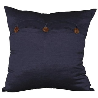 Handmade Blue Thai Silk Cushion Cover