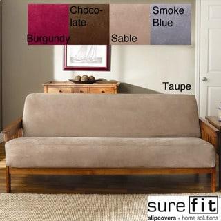 Soft Suede Woven Futon Slipcover