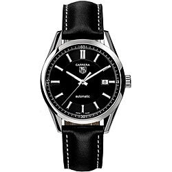 Tag Heuer Men's WV211B.FC6202 Carrera Black Dial Automatic Watch