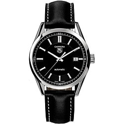 Tag Heuer Carrera Men's WV211B.FC6202 Black Dial Automatic Watch