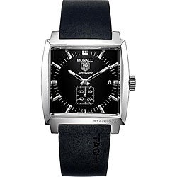Tag Heuer Monaco Men's WW2110.FT6005 Black Dial Automatic Watch
